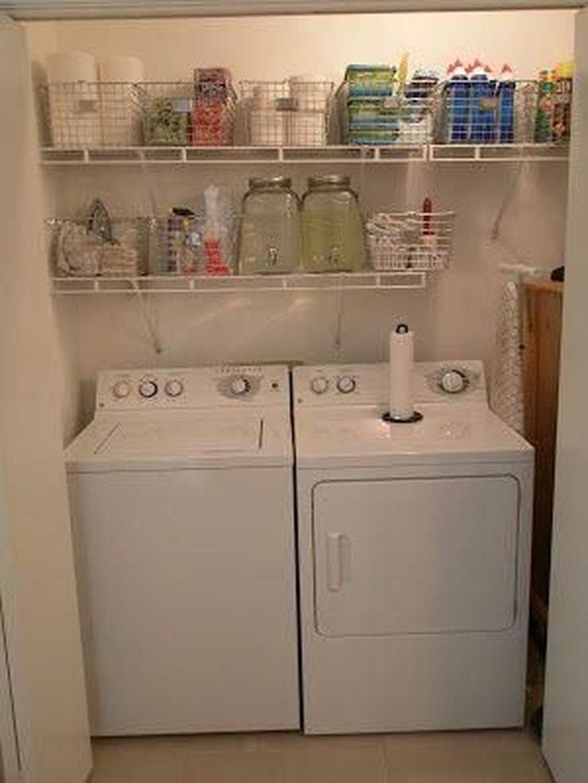 30+ Wonderful Laundry Room Storage Organization Ideas On A Budget images