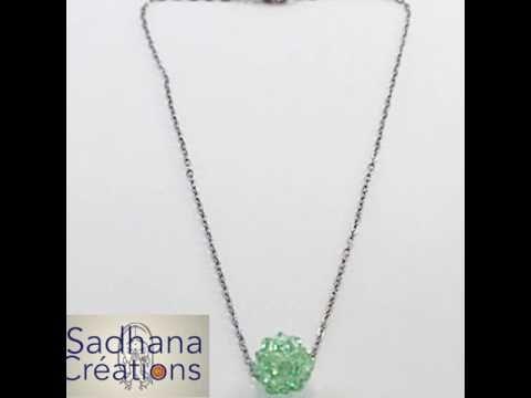 Article no : 0432 Dodécaèdre créé avec cristaux de Swarovski ...