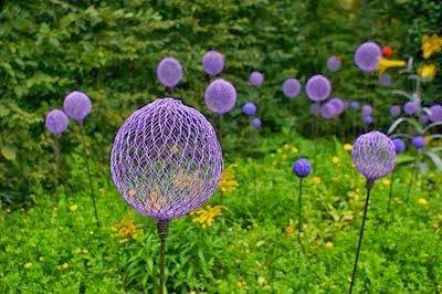 Diy Garden Art Really Cool Garden Art Ideas To Make A Funky