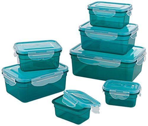 Gourmetmaxx 02914 Bpa Free Food Storage Container Set 14 Https