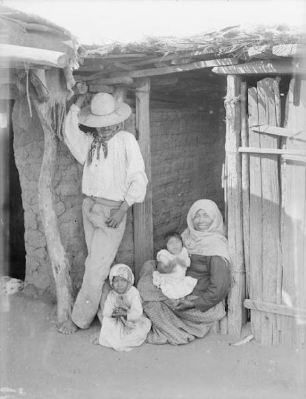 Magnificent Tohono Oodham Family Once Known As Papago In Front Of A Beutiful Home Inspiration Ommitmahrainfo