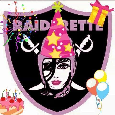 Raiderette's have the best birthdays!