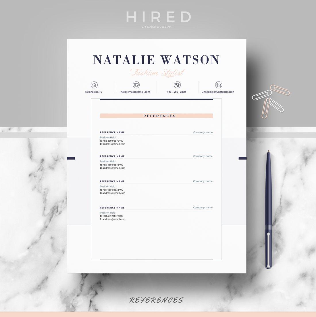Creative  Professional Resume  Cv Template  Modern Cv Resume
