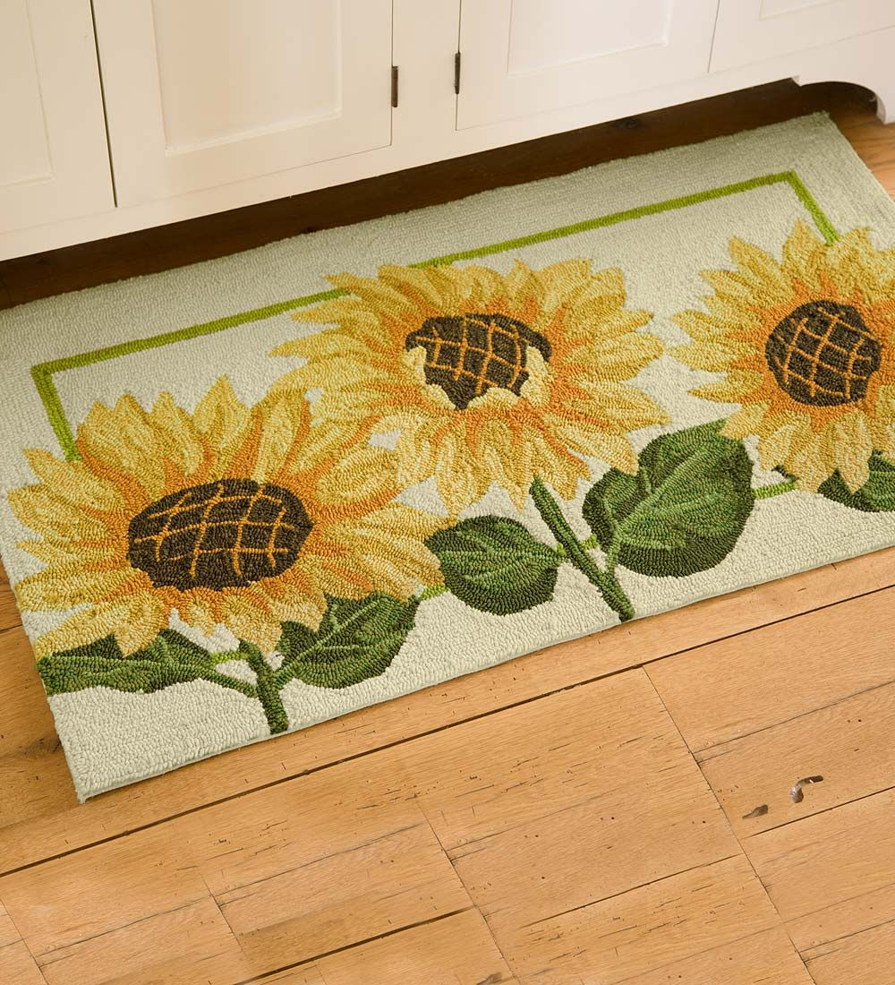 Pin de Shelia Traci en Cool Rugs | Pinterest | Girasoles