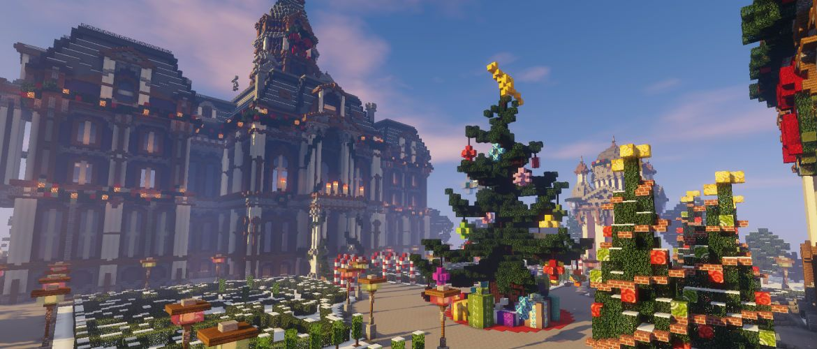A yuletide build from Gemini Tay!   Minecraft modern house ...