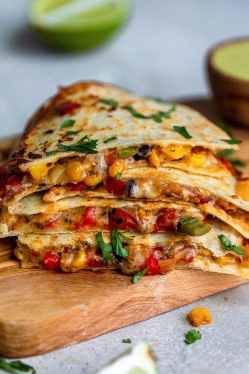 Photo of Vegetarian Quesadilla – Dash Of Mandi