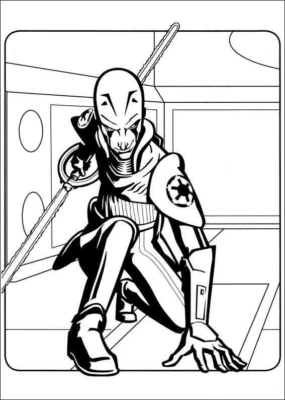 Star Wars Rebels Coloring Pages 15 | Coloring pages Star Wars ...