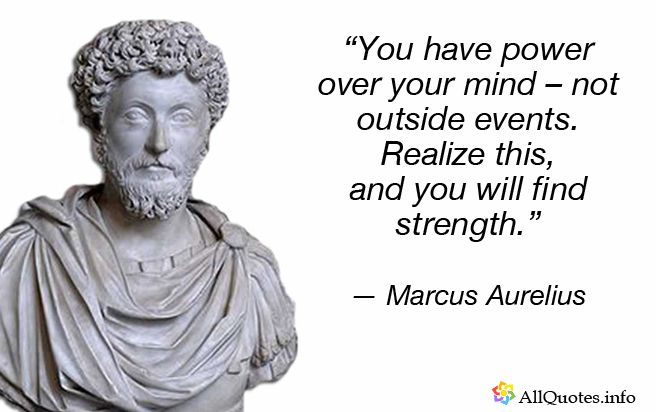 Marcus Aurelius Quotes Endearing Marcus Aurelius Quotes  25 The Best Ones  Pinterest  Famous
