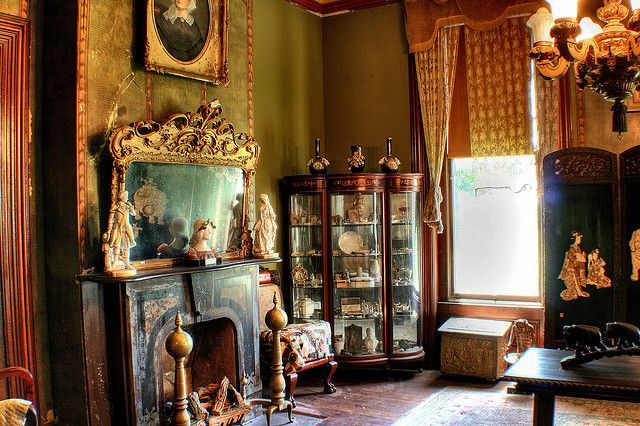 Eastlake Interiors (American Victorian Aesthetic)