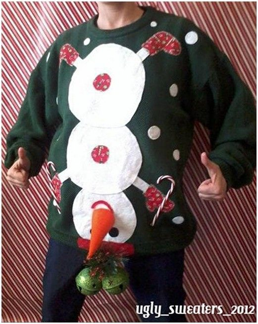 30 Ugly Christmas Sweater Ideas | Funnies | Pinterest | Ugliest ...