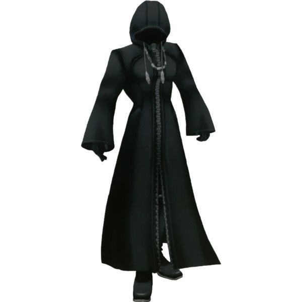 Black Coat キュートなアート キングダムハーツ