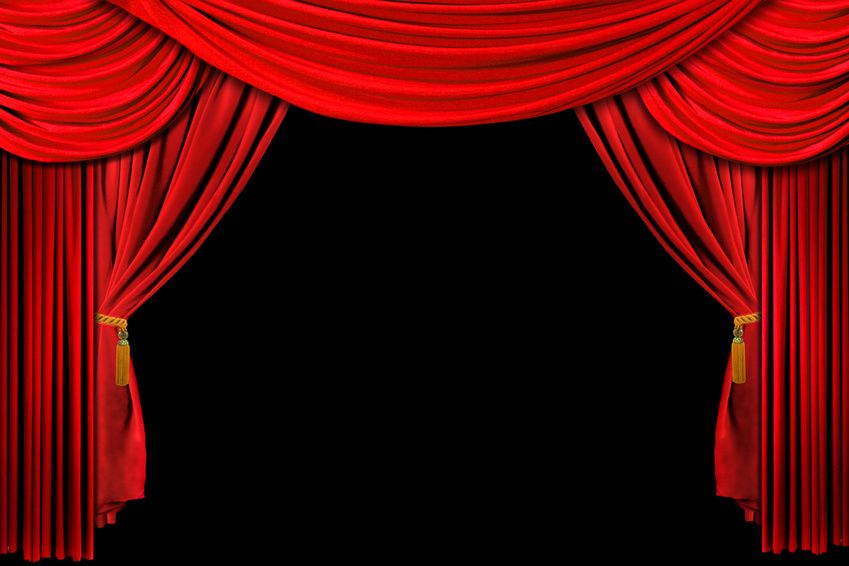 Curtain rods curtain clipart and red theater curtain clipart - Moulin Rouge Party Red Fabric Photo Backgrounds And