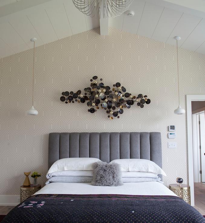 Art Sculpture Over Bed Design Ideas