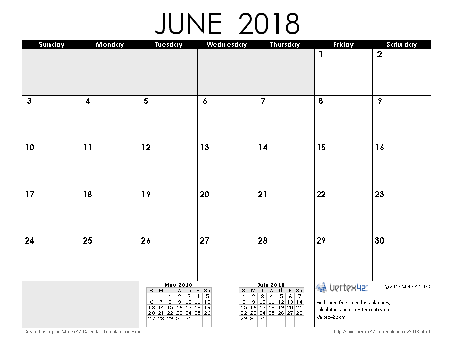 download a free june 2018 calendar from vertex42com august 2015 calendar 12 month
