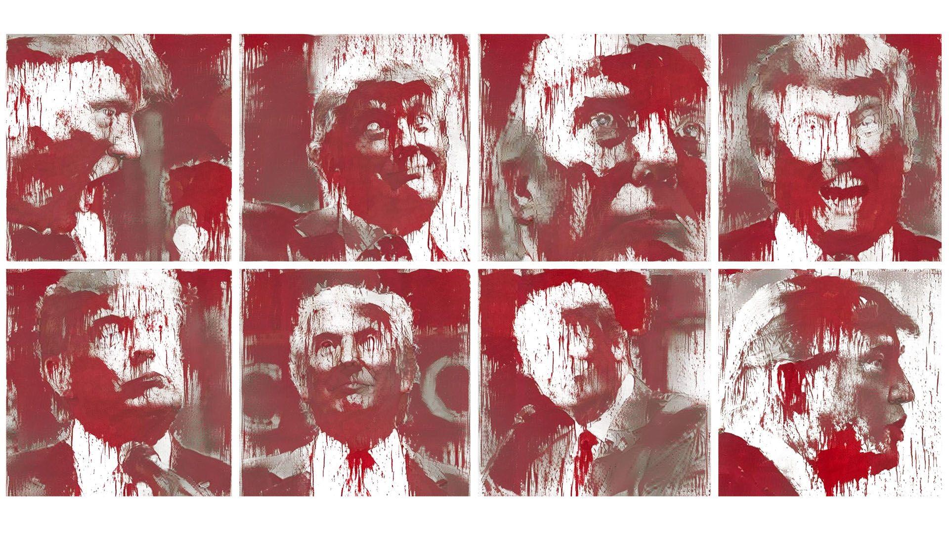 Trump deepX Hermann Nitsch [1920×1080] Need #iPhone #6S #Plus #Wallpaper/ #Backg… 4K