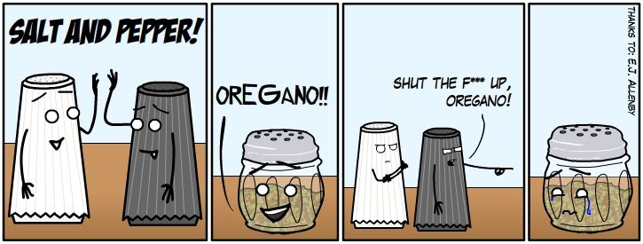 Condiment segregation