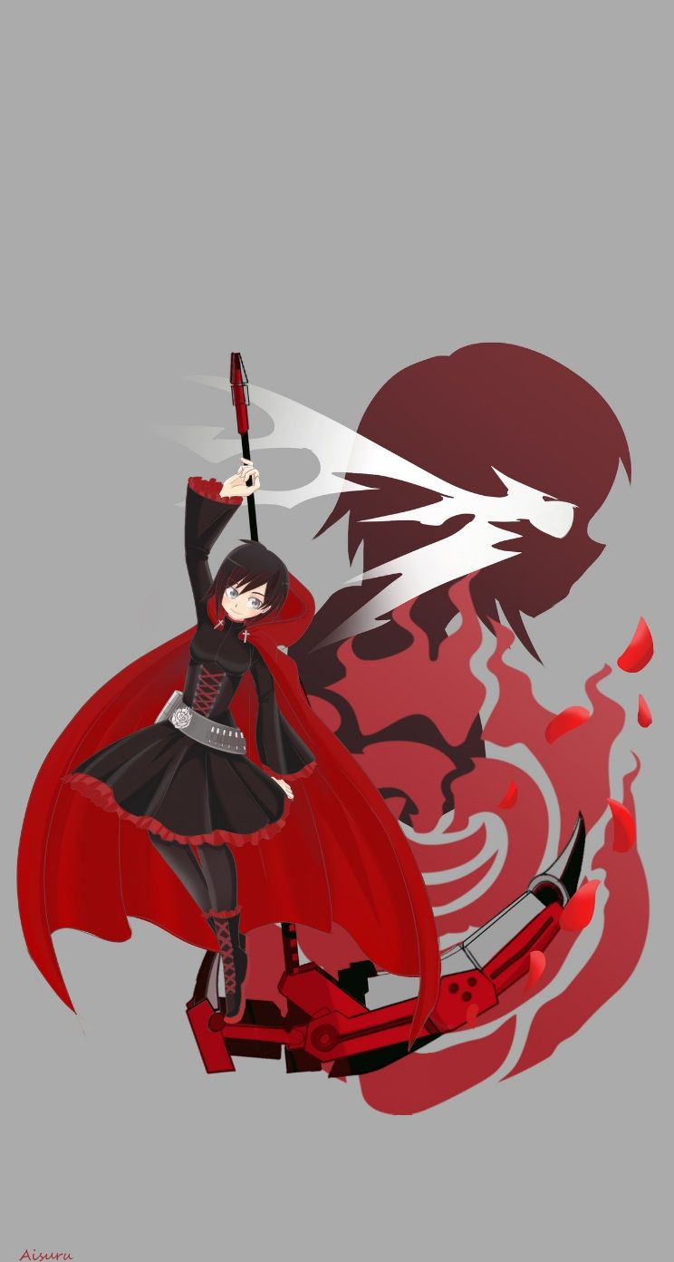 Rwby Ruby Rose Wallpaper Iphone My Edition A Aisuru Wallpapers
