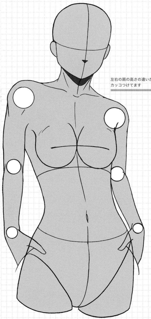 Modelo base cuerpo chica