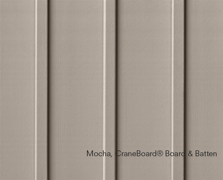 Mochacraneboardboard Batten Board And Batten Exterior Vinyl Board Exterior Siding