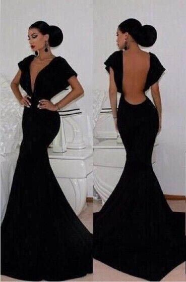 Sophisticated Backless Dresses