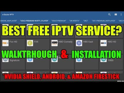 BEST FREE lPTV ANDROID APP FOR 2017? HUNDREDS OF HD LIVE