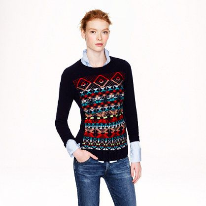 If you're going to wear a Christmas sweater, make it a good one ...