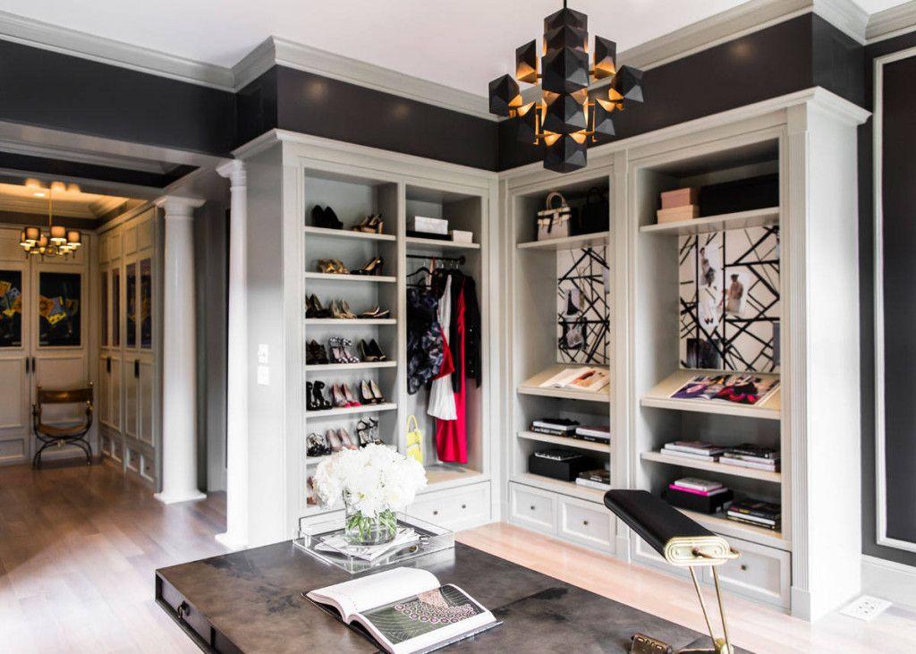 Closet Office Combo Walk In Closet Design Luxury Closet