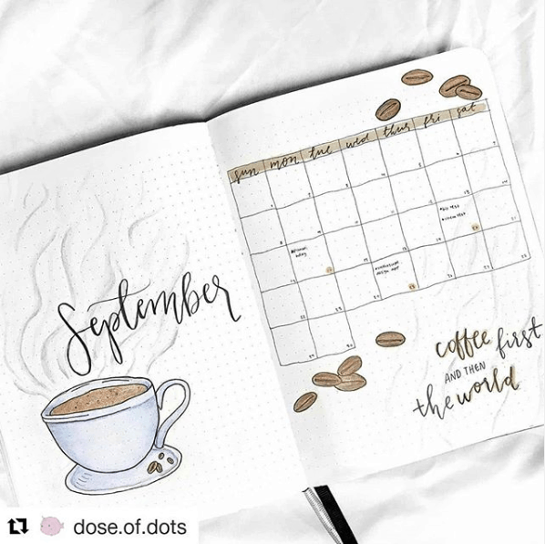 30 Creative Bullet Journal Monthly Spread Ideas