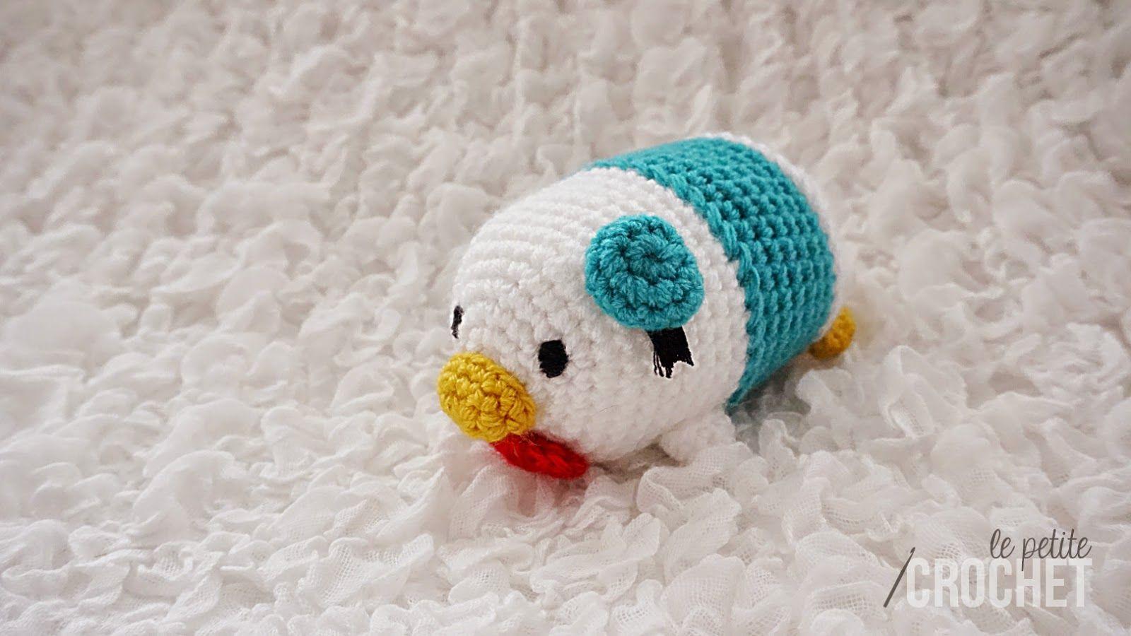 Donald Duck Tsum Tsum Amigurumi Crochet Tsum Tsum Pinterest