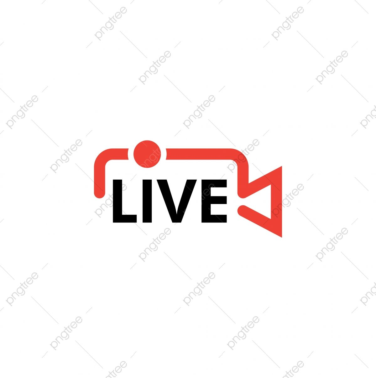 Live Icon Design Template Vector Isolated Illustration Live Icons Template Icons Streaming Png And Vector With Transparent Background For Free Download Diseno De Icono Icono De Facebook Iconos De Redes Sociales