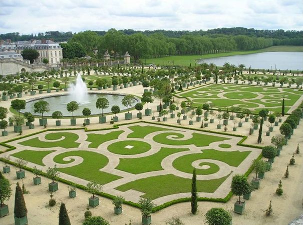 Famous French Architects gardens of versailles, france: in the 17th century, one of the