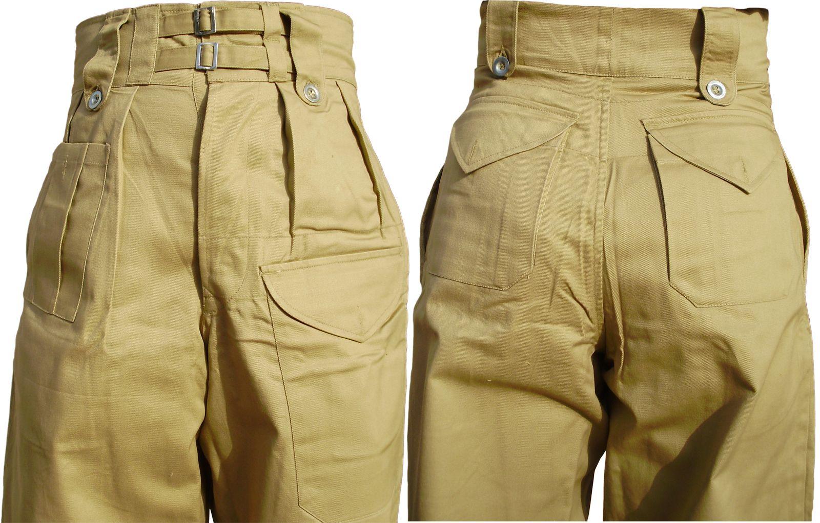 UK Tropical BD Trouser (Khaki)