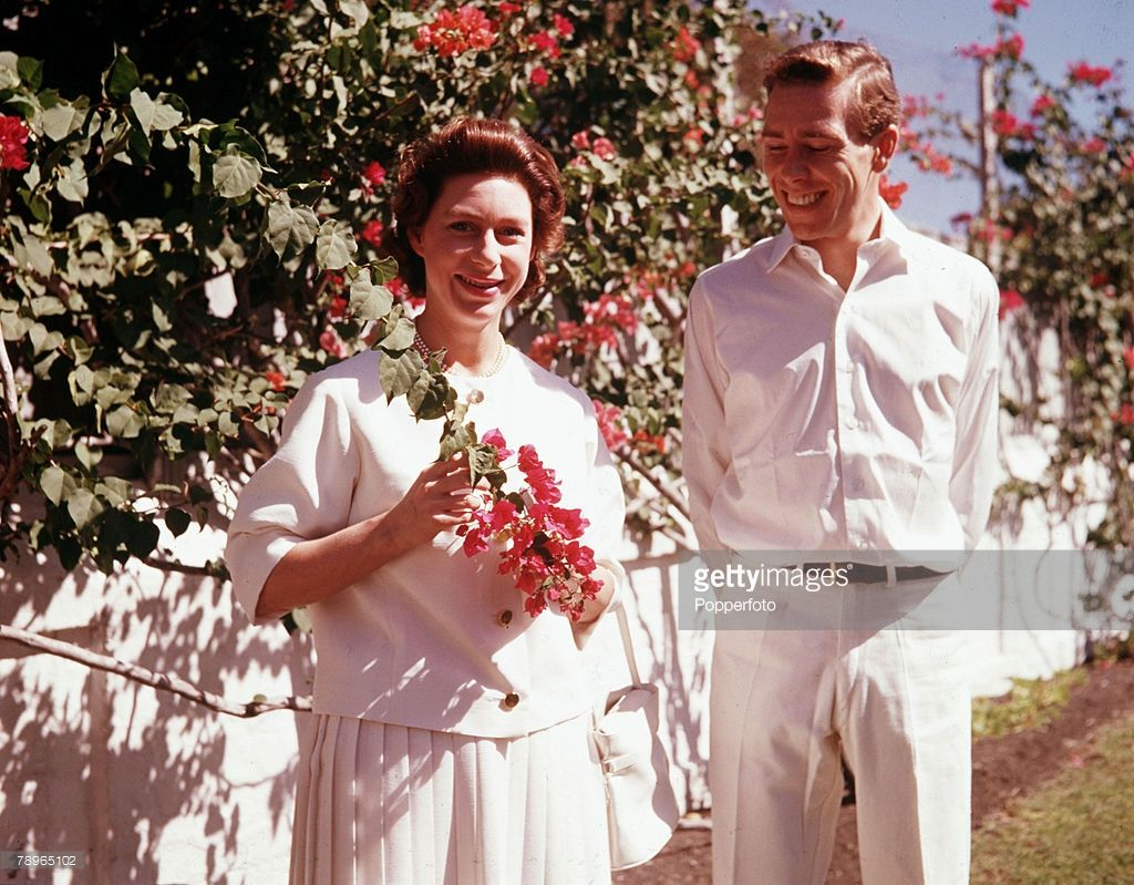 1962, Princess Margaret and Lord Snowdon are pictured in the Bahamas