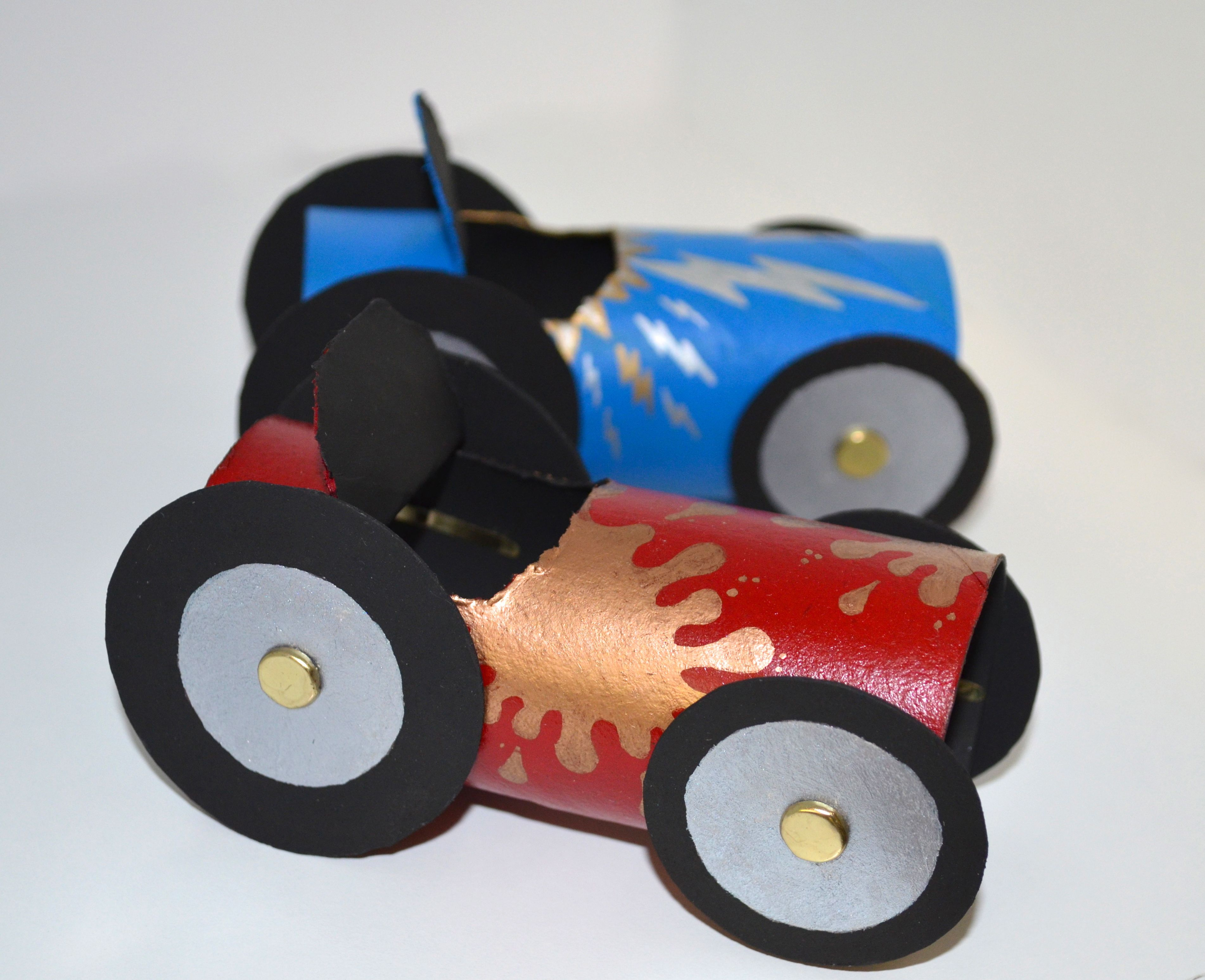 Car Craft For Kids Part - 37: Rolling Car
