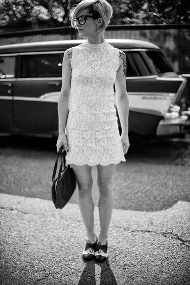 Second hand: White lace dress +Marilyn+ (alstashop via ...