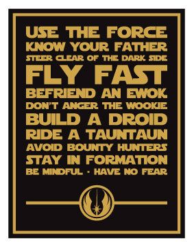Star+Wars+Inspired+Quotes+Digital+Art+Print+14x11+by+sushimunki,+$10.00