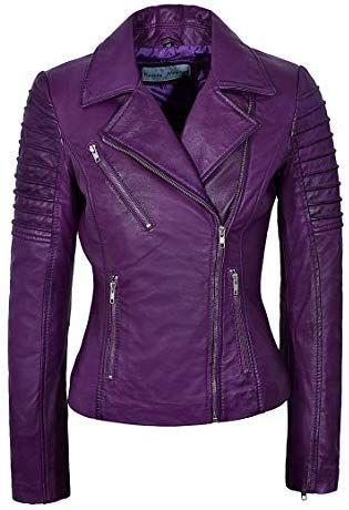 03775d69689 Great for Smart Range Ladies Real Leather Jacket Stylish Fashion ...
