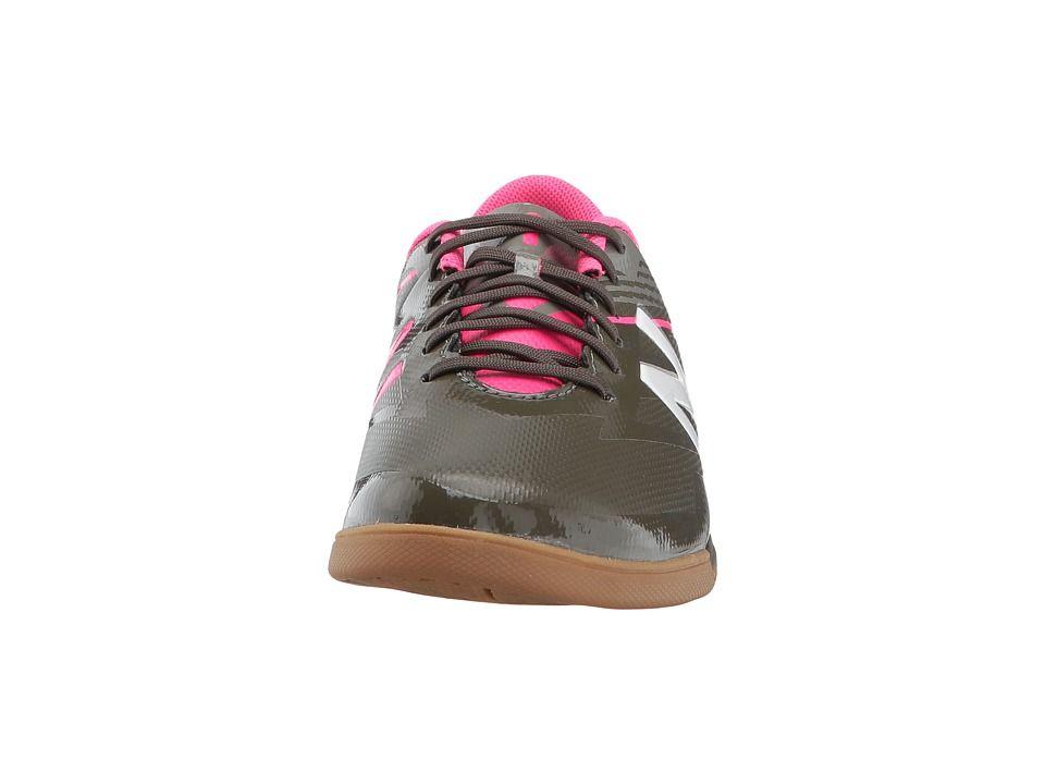 5238e97aeab New Balance Kids SFDIv3 Soccer (Little Kid Big Kid) Boys Shoes Military  Dark Triumph Alpha Pink