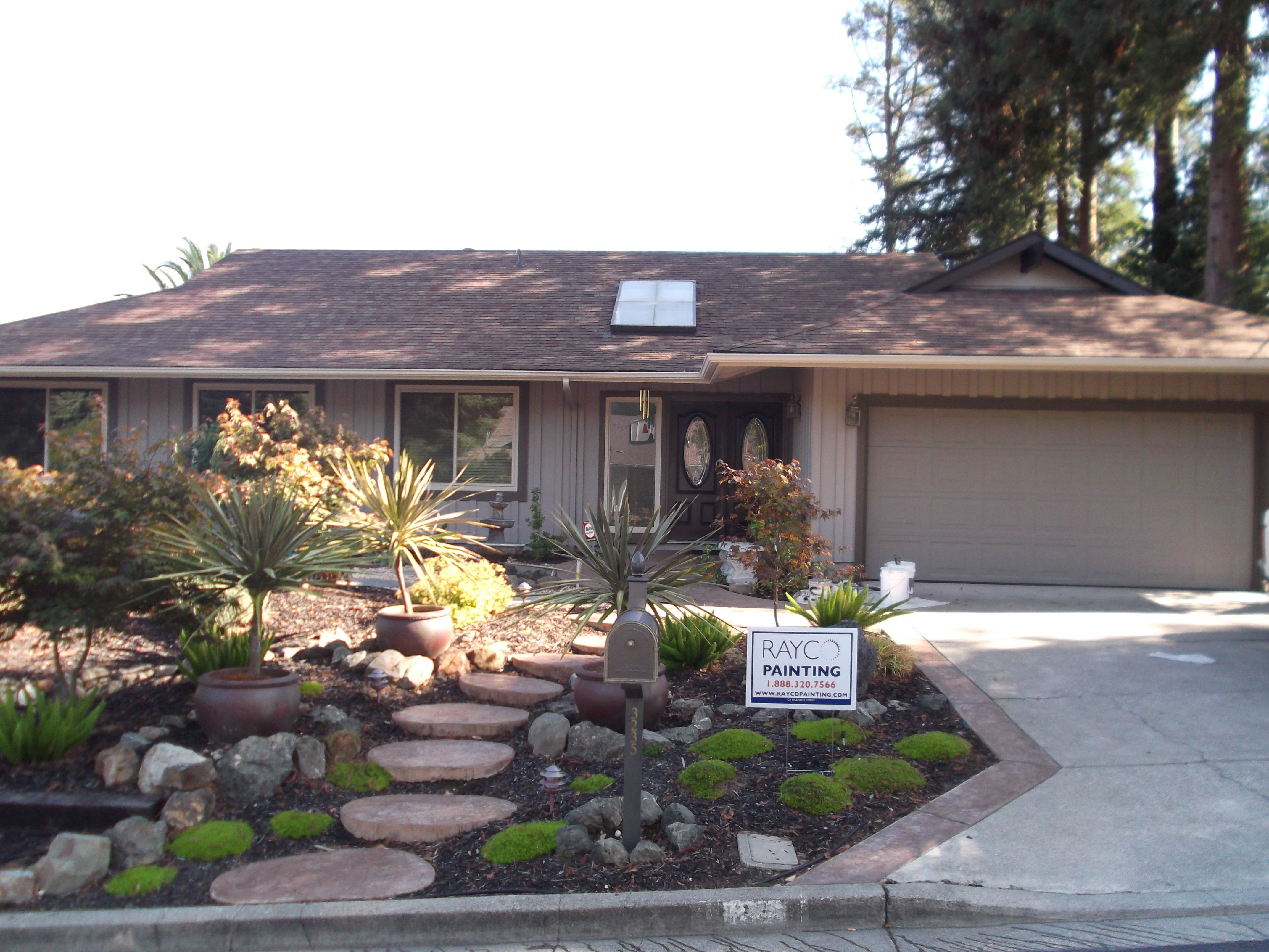 Kelly Moore Exterior Paint Job in Menlo Park Rayco Painting