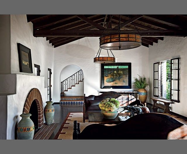 10 Most Popular Spanish Colonial Living Room