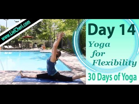 day 14  splits stretch flexibility yoga  30 days of yoga