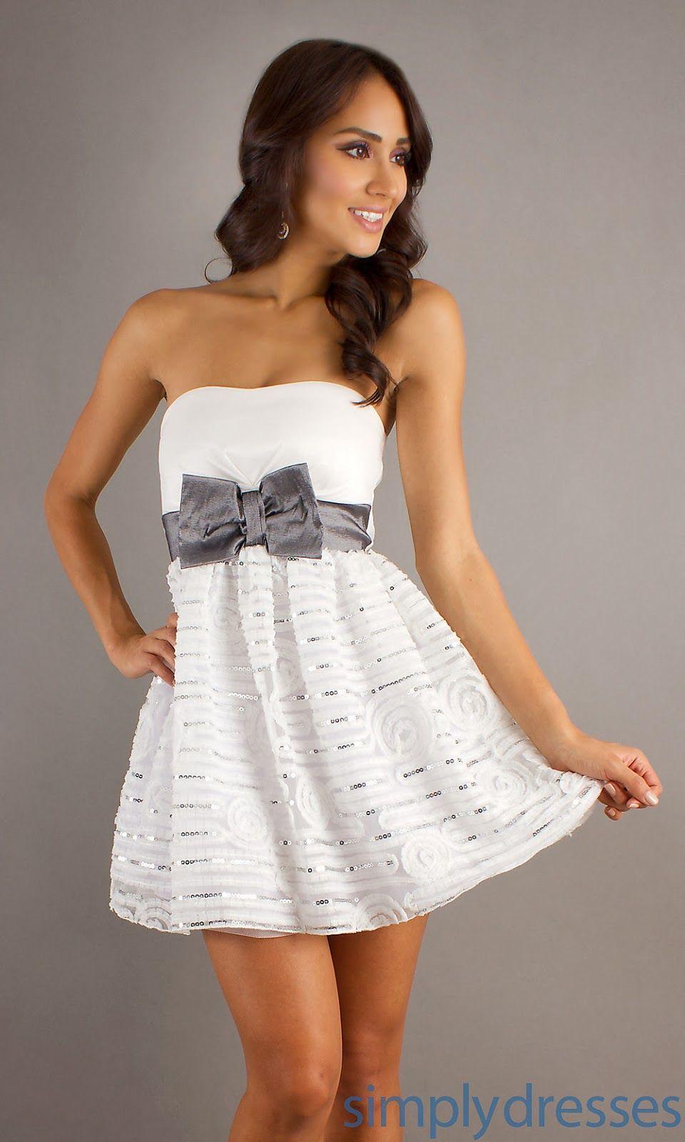 Alucinantes vestidos de fiesta blancos | Moda y Tendencias 2014 | 15 ...