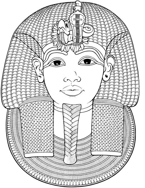 IColor Around The World Egypt Funerary Mask Of