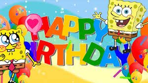 Spongebob Birthday Happy Birthday Song Birthday Wishes