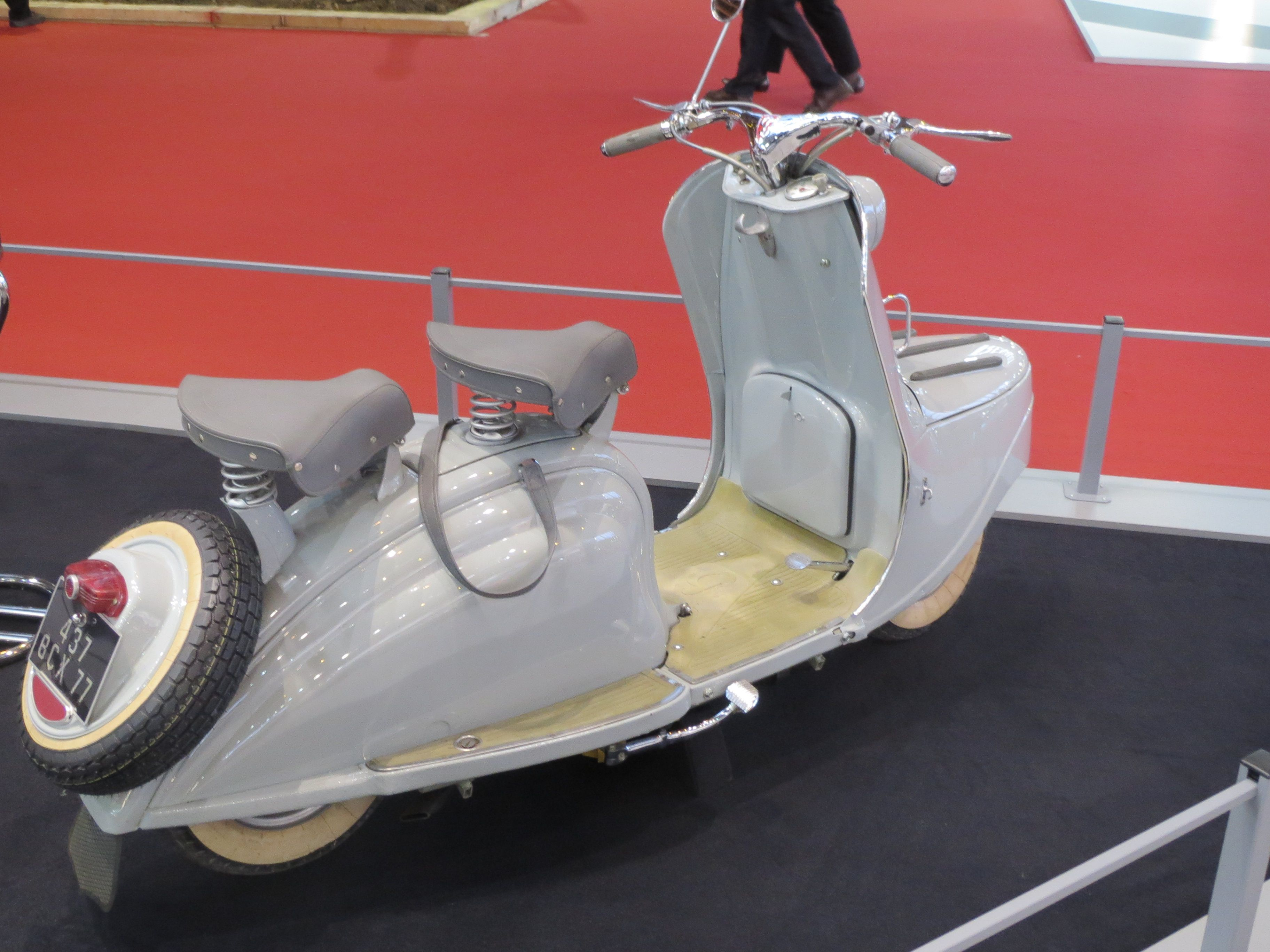 Peugeot Scooter S57 Salon Retromobile 1955 With Images