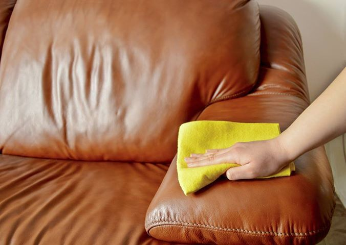 To Restore The Shine And Softness To Your Leather Furniture We Apply And Remove A Cleaner To D Cleaning Leather Sofas Household Cleaning Tips Leather Furniture