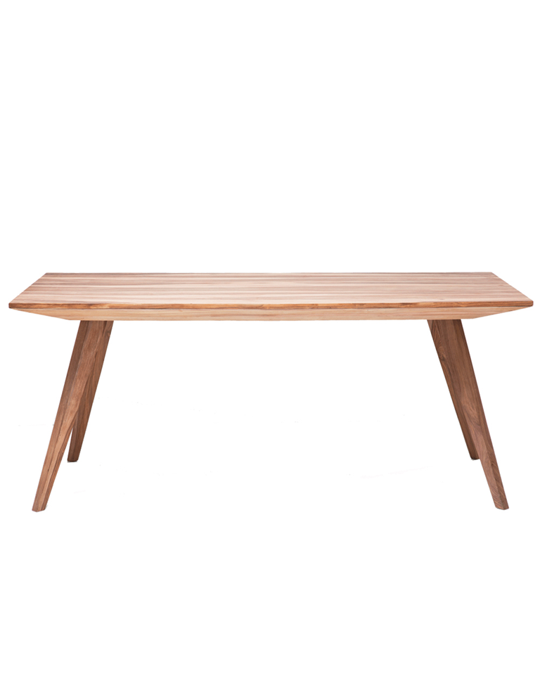 Mesa valencia la oca la tienda de decoracion donde for Catalogo de muebles de madera para el hogar pdf