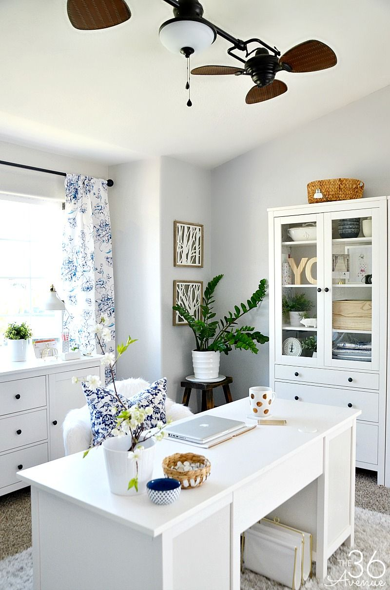 Home Office Decor This Room Went From Dining To So Pretty Also Design Study  Ideas Decoration