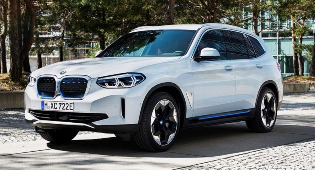 2021 Bmw Ix3 Production Ev Surfaces Online Before Official Debut Despite Being Among The First Luxury Car Manufacturers To Launch An All Ele In 2020 Bmw New Bmw Suv