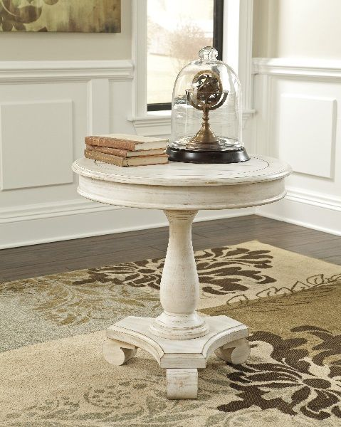 Cottage Accents   Round Accent Table By Signature Design By Ashley. Get Your  Cottage Accents   Round Accent Table At Mirab HomeStore And Furniture  Gallery, ...